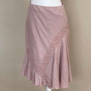 Anthropologie Odille Asymmetrical Skirt